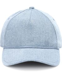 Rag & Bone - Denim Baseball Cap - Lyst