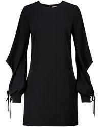 Victoria, Victoria Beckham Crêpe Minidress - Black