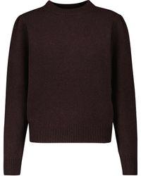 Dries Van Noten Jersey de lana - Morado