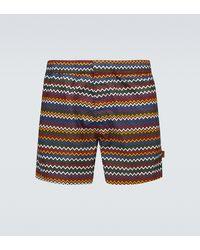 Missoni Costume da bagno con motivo a zig-zag - Multicolore