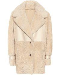 Zeynep Arcay Shearling Jacket - Natural