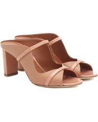 Malone Souliers Norah 70 Leather Sandals - Brown