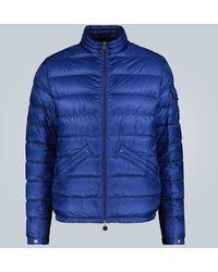 Moncler Piumino Agay in nylon trapuntato - Blu