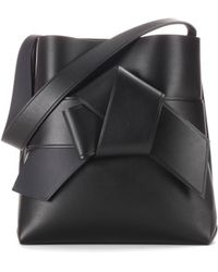 Acne Studios - Exclusive To Mytheresa. Com – Musubi Leather Shopper - Lyst