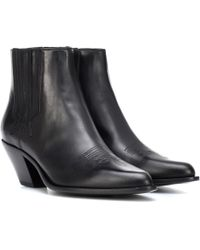 Golden Goose Deluxe Brand - Leather Ankle Boots - Lyst