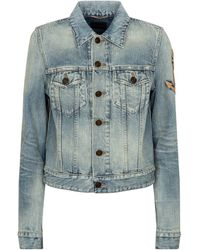 Saint Laurent Denim Jacket - Blue