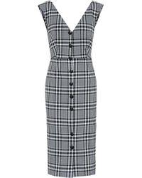 Veronica Beard - Lark Stretch Cotton Dress - Lyst