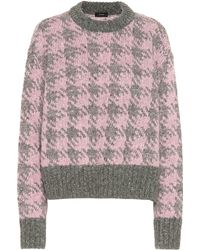 JOSEPH Wool And Mohair-blend Sweater - Pink