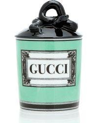 Gucci Herbosum Logo Candle - Green