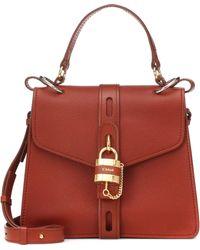 Chloé - Aby Medium Leather Shoulder Bag - Lyst