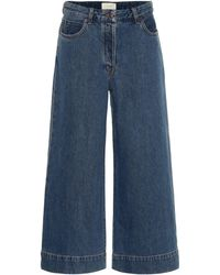 The Row Edna Wide-leg Jeans - Blue