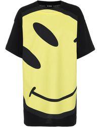 Raf Simons - Printed Cotton-jersey T-shirt - Lyst