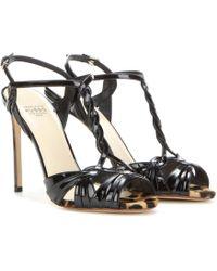 Francesco Russo | Patent Leather Sandals | Lyst