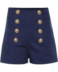 Balmain - Shorts aus Baumwolle - Lyst
