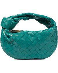 Bottega Veneta Bv Jodie Mini Leather Tote - Blue