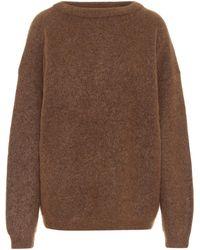 Acne Studios Oversized Sweater - Brown