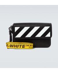 Off-White c/o Virgil Abloh Pochette en cuir - Noir