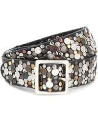Golden Goose Deluxe Brand Exclusive To Mytheresa – Studded Leather Belt - Black
