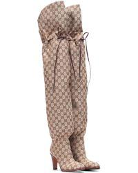 Gucci Original GG Over-the-knee Boots - Multicolour