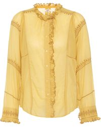 Étoile Isabel Marant - Lauryn Cotton Shirt - Lyst