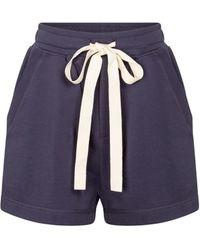 Lee Mathews - Shorts Vince de algodón orgánico - Lyst