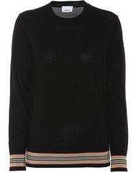 Burberry Wool Jumper - Black