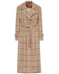 Giuliva Heritage Collection - Trench The Christie a quadri in lana - Lyst