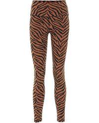 Varley Kellam Zebra-print Sports Bra - Multicolor