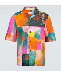 Acne Studios Camicia con stampa - Rosa
