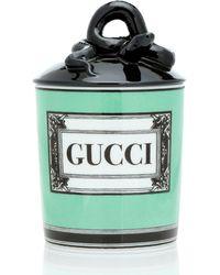 Gucci Vela Herbosum con logo - Verde