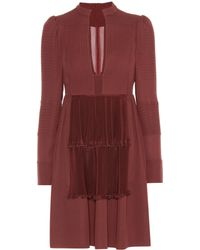 Valentino - Silk Dress - Lyst