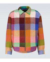 The Elder Statesman Wonderland Long Decon Jacket - Multicolour