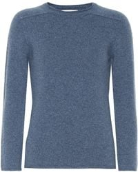 The Row Rickie Cashmere Sweater - Blue