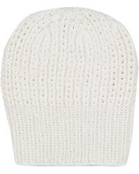The Row Bonnet Ayfer en cachemire - Blanc