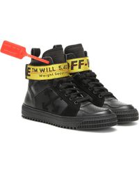 Off-White c/o Virgil Abloh Exklusiv bei Mytheresa – High-Top-Sneakers Industrial - Schwarz