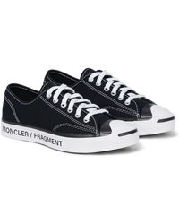 Moncler 7 Frgmt X Converse Jack Purcell Sneakers - Black
