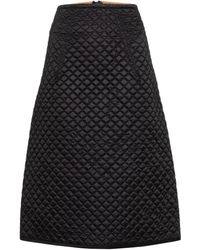 Moncler Genius - 2 Moncler 1952 Quilted Down Midi Skirt - Lyst