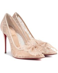 5c748b97ded Lyst - Christian Louboutin Senora Patent Leather T-strap Pumps in ...
