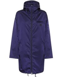 Prada - Nylon Gabardine Raincoat - Lyst