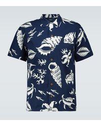 Polo Ralph Lauren Hawaii Sea Patterned Shirt - Blue