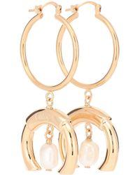 Chloé - Pearl Drop Earrings - Lyst