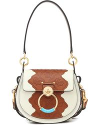 Chloé - Tess Small Leather Shoulder Bag - Lyst