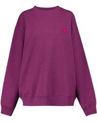 Acne Studios - Cotton Jersey Sweatshirt - Lyst