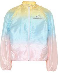 Marine Serre Technical Track Jacket - Multicolor