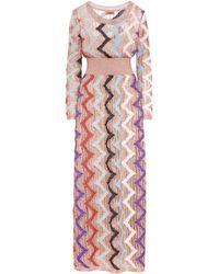 Missoni - Striped Dress - Lyst
