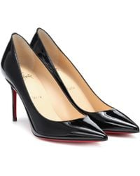 Christian Louboutin Pigalle Follies 85 Pumps Aus Lackleder - Schwarz