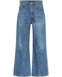 3x1 High-Rise Jeans Aimee - Blau