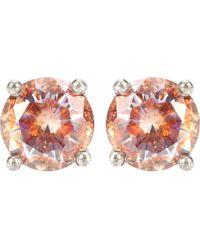 Bottega Veneta - Cubic Zirconia And Silver Earrings - Lyst