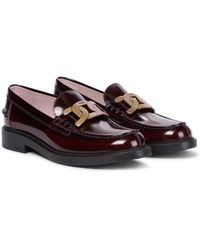 Tod's Loafers Catena Classic aus Leder - Rot