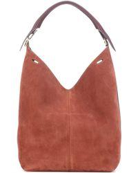 Anya Hindmarch - The Bucket Suede Shoulder Bag - Lyst